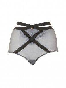 Culotte haute Captivate Gris - Scantilly Lingerie