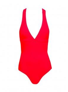 Maillot de bain une pièce Rouge - Color mix - Phax