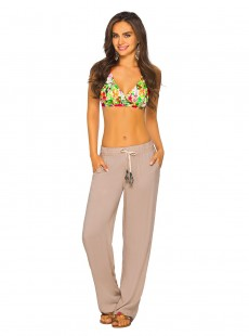 Pantalon de type jogging Sable - Color Mix Beachwear