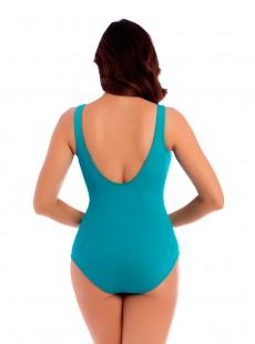 "Maillot de bain gainant Oceanus Bleu Clair - Les Unis - ""M"" - Miraclesuit swimwear"