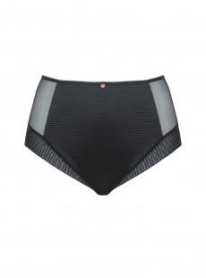 Culotte taille haute Brazen Noir - Scantilly Lingerie