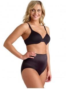 Culotte gainante taille mi-haute Noir - Flexible fit - Miraclesuit Shapewear