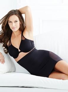 Fond de jupe noir 2784-1 Sexy Sheer
