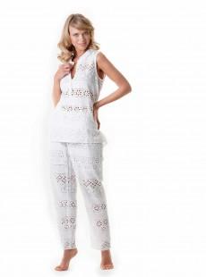 Chemise sans manche blanche - Positano - Iconique