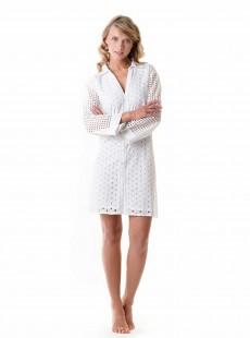 Robe de plage chemise blanche - Amalfi - Iconique