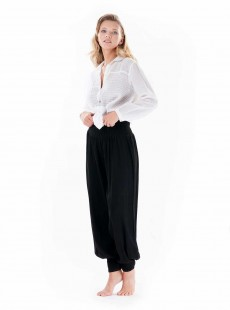 Pantalon sarouel Noir - Casablanca - Iconique
