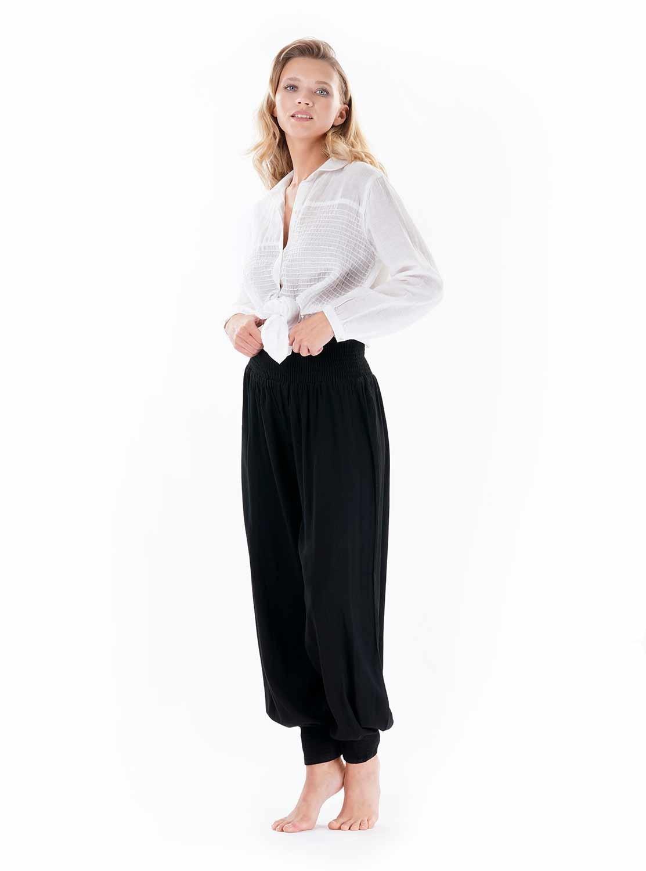 Iconique Sarouel Sarouel Pantalon Pantalon Noir Casablanca Noir erdCxBo