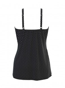 """Tankini Love Knot Noir - Must haves - Pin point - """"M"""" -Miraclesuit Swimwear"""