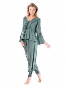 Pantalon sarouel Vert - Casablanca - Iconique