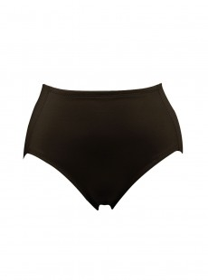 Culotte gainante mi-haute noire - Luxurious Shaping - Naomi & Nicole