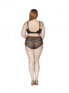 Culotte Taille Haute Delightfull Noir - Curvy Kate Lingerie
