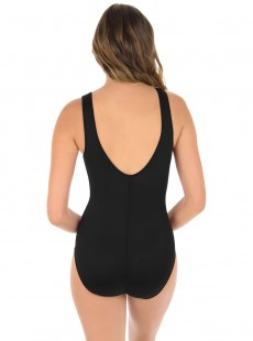 "Maillot de bain gainant Palma Noir - Illustionists - ""FC"" -Miraclesuit Swimwear"