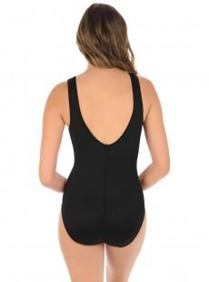 "Maillot de bain gainant Palma Noir - Illustionists - ""W"" -Miraclesuit Swimwear"
