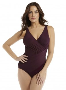 "Maillot de bain gainant Oceanus Bordeaux - Must haves - ""M"" -Miraclesuit Swimwear"