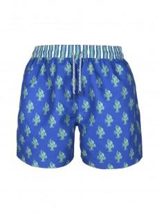 Short de bain bleu marine Classic - Lobsters - Palmacea