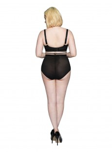 Culotte Taille Haute Censored Black - Scantilly Lingerie