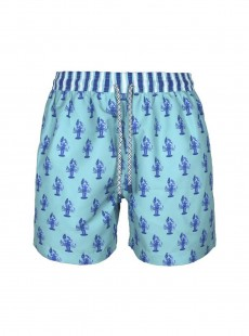 Short de bain vert clair Classic - Lobsters - Palmacea