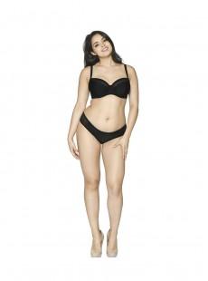 Culotte de bain Sheer Class Black - Curvy Kate Swimwear