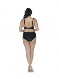 Culotte taille haute Rush Noir - Curvy Kate Swimwear