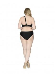 Haut de Maillot de bain Bandeau Multi-options Wrapsody Black - Curvy Kate Swimwear