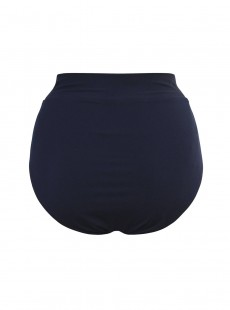 Culotte de bain lissante taille extra-haute Martini Noir - Gitano - Amoressa