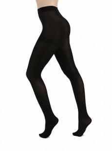 Collants 80 Deniers Opaques Noir - Pamela Mann