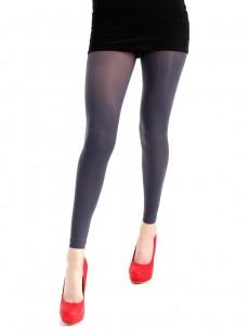 Collants Style legging 50 Deniers Gris - Pamela Mann