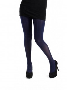Collants 90 Deniers Super Stretch Navy - Pamela Mann