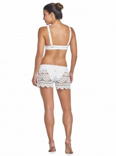 Short en dentelle Must Haves Lexi Blanc - PilyQ