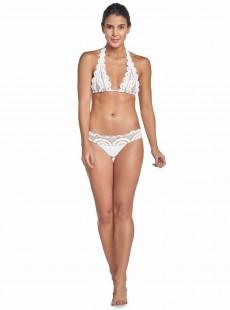 Culotte de bain en dentelle Must Haves Lace blanc - PilyQ
