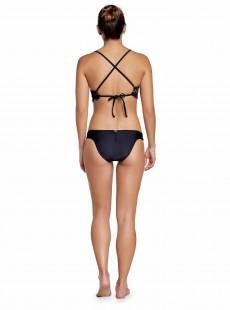 Culotte de bain en dentelle Must Haves Lace Noir - PilyQ
