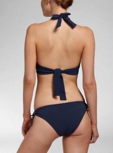 Haut de maillot de bain tour de cou - Island Navy - Cyell