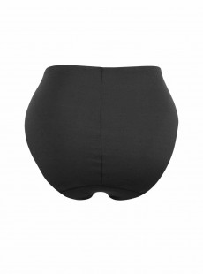 Culotte taille haute noire - Feel Nothing See Nothing - Naomi & Nicole