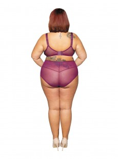 Culotte taille Haute Delightfull violet - Curvy Kate Lingerie