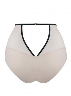 Culotte Taille Haute Heart Throb Blush / Black- Scantilly Lingerie