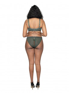 Culotte ajourée Surrender Vert - Scantilly Lingerie