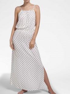 Robe longue blanc - Bardot - Cyell