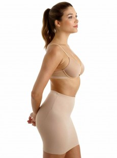 Fond de jupe taille haute gainant Nude - Luxe Shaping - Naomi & Nicole