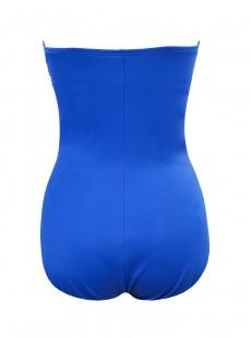 "Maillot de bain gainant Madrid Bleu - Rock Solid - ""M"" -Miraclesuit Swimwear"