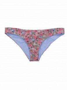 Bas de maillot de bain tanga réversible Stephanie - Marseille Floral - Beach Bunny