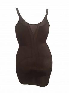 Fond de robe torsette gainant extra ferme Noir - Wyob Flexible Fit - Miraclesuit Shapewear