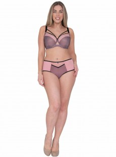 Shorty Victory Viva Pink/Black - Curvy Kate Lingerie