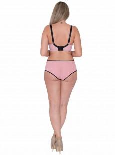 Soutien-gorge balconnet Victory Viva Pink/Black - Curvy Kate Lingerie