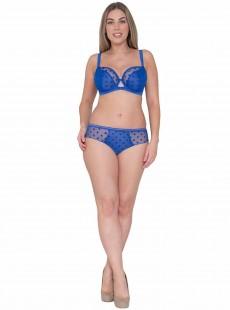 Soutien-gorge balconnet Top Spot Bleu - Curvy Kate Lingerie