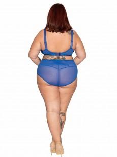 Culotte taille Haute Delightfull bleu - Curvy Kate Lingerie