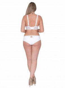 Shorty Top Spot Blanc - Curvy Kate Lingerie