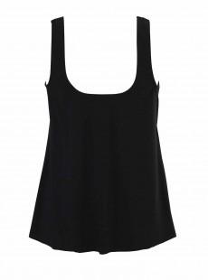 "Ursula Tankini Top Noir - Illusionists - ""W"" - Miraclesuit Swimwear"