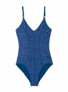 Maillot de bain 1 pièce Island Blue Bleu - PilyQ