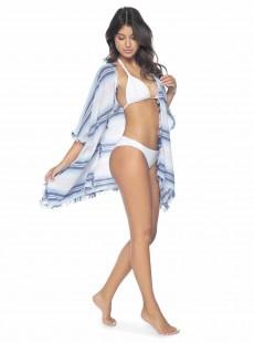 Tunique de plage à rayures Hannah Water Lily - PilyQ