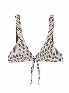 Haut de maillot de bain Fiona Harbour Stripes - PilyQ